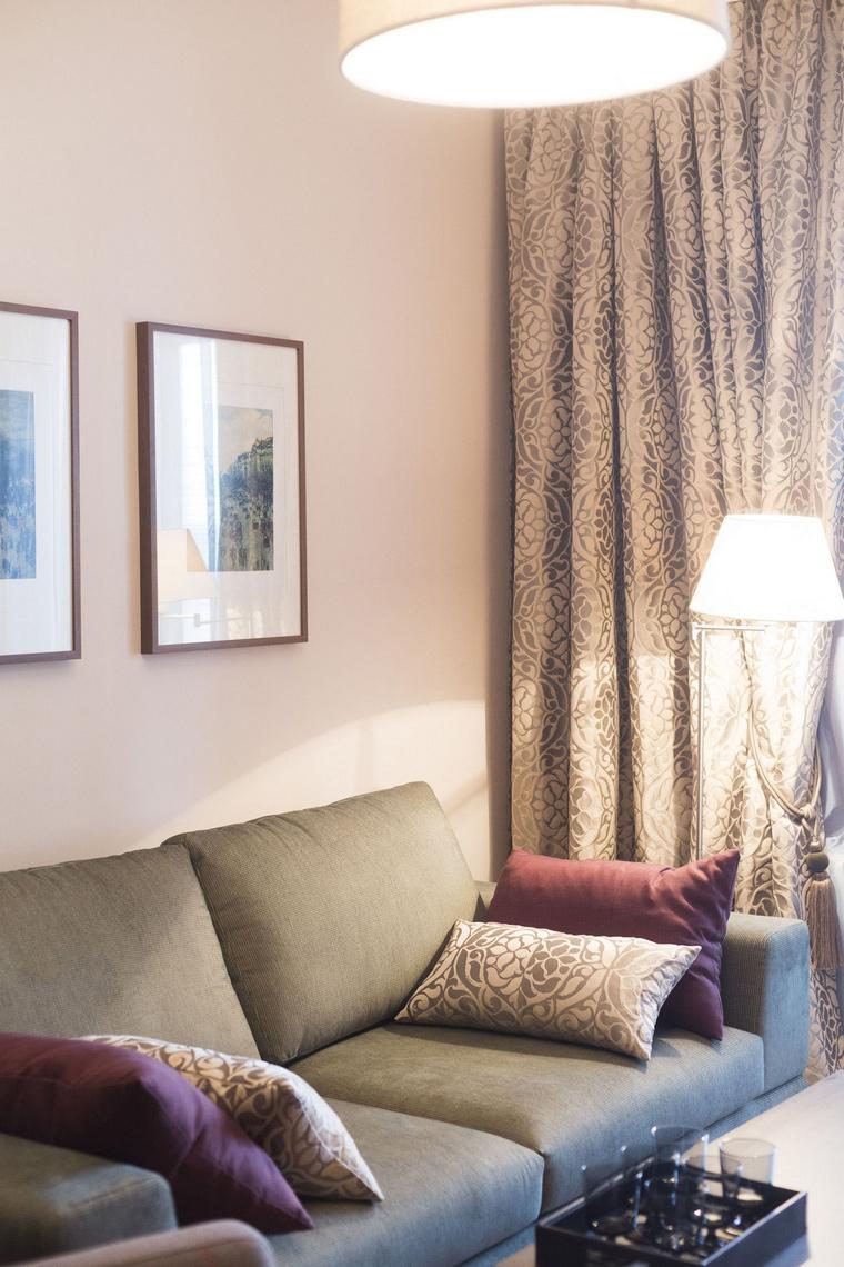 интерьер гостиной - фото № 47967