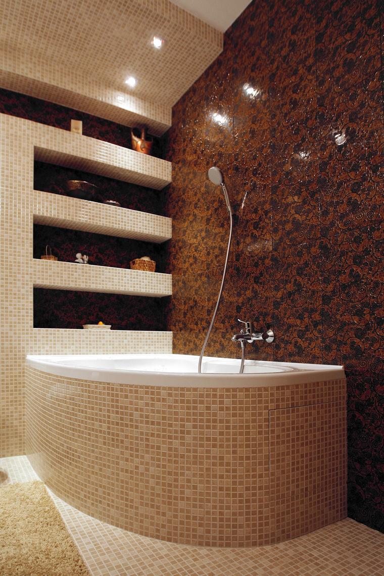 Квартира. ванная из проекта , фото №48024