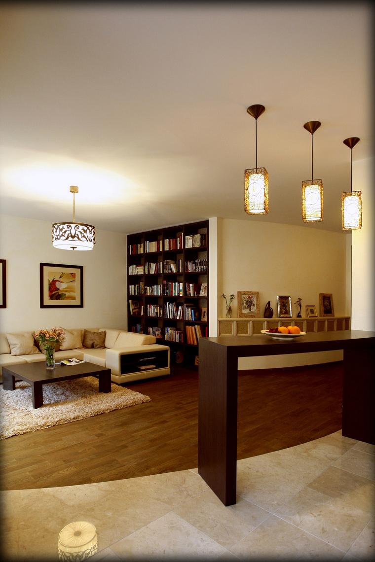 интерьер гостиной - фото № 48019