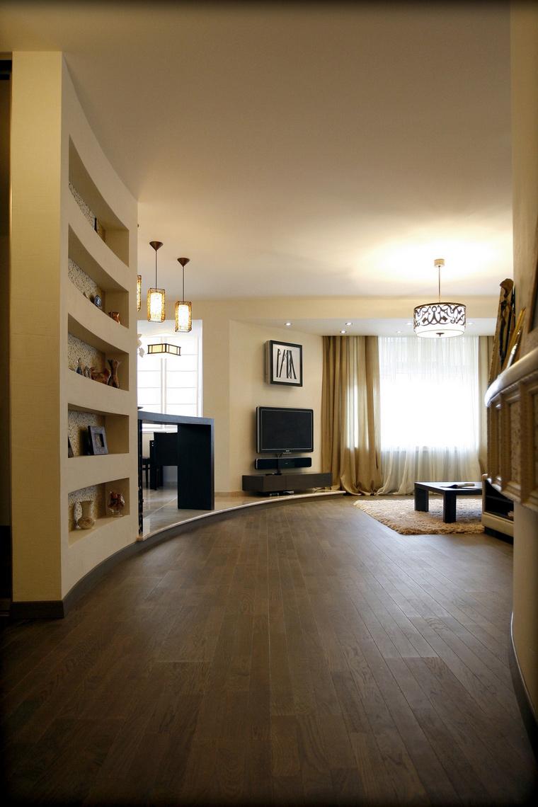 Квартира. гостиная из проекта , фото №48020