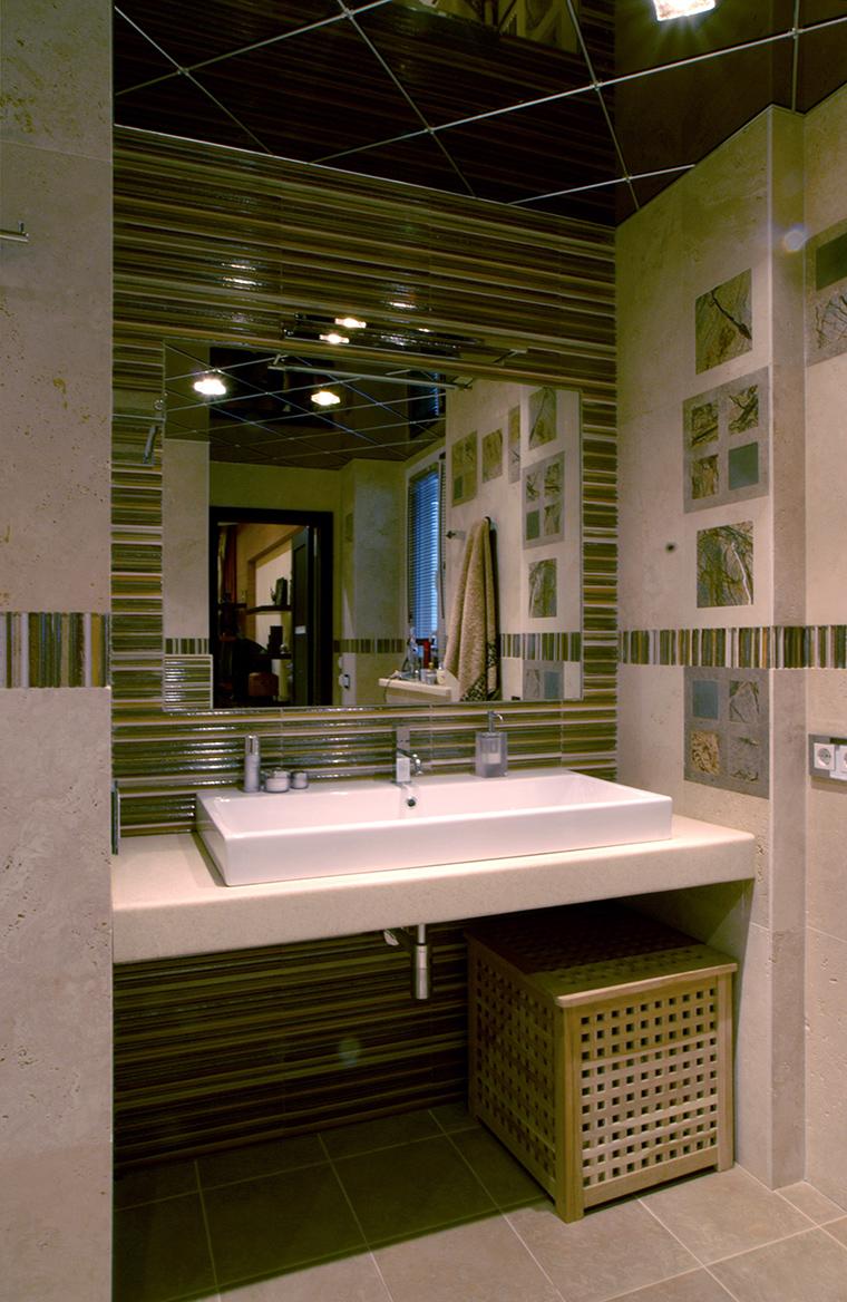 Квартира. ванная из проекта , фото №48007