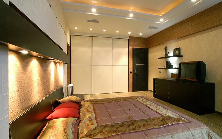 Квартира. спальня из проекта , фото №48008