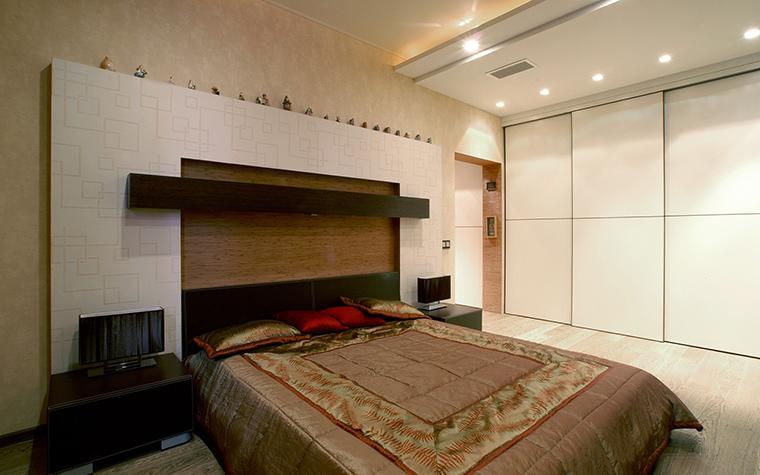 Квартира. спальня из проекта , фото №48009