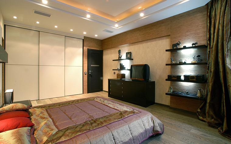 Квартира. спальня из проекта , фото №48010