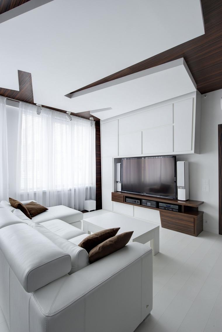 интерьер гостиной - фото № 48043