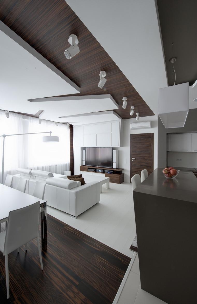 интерьер гостиной - фото № 48045