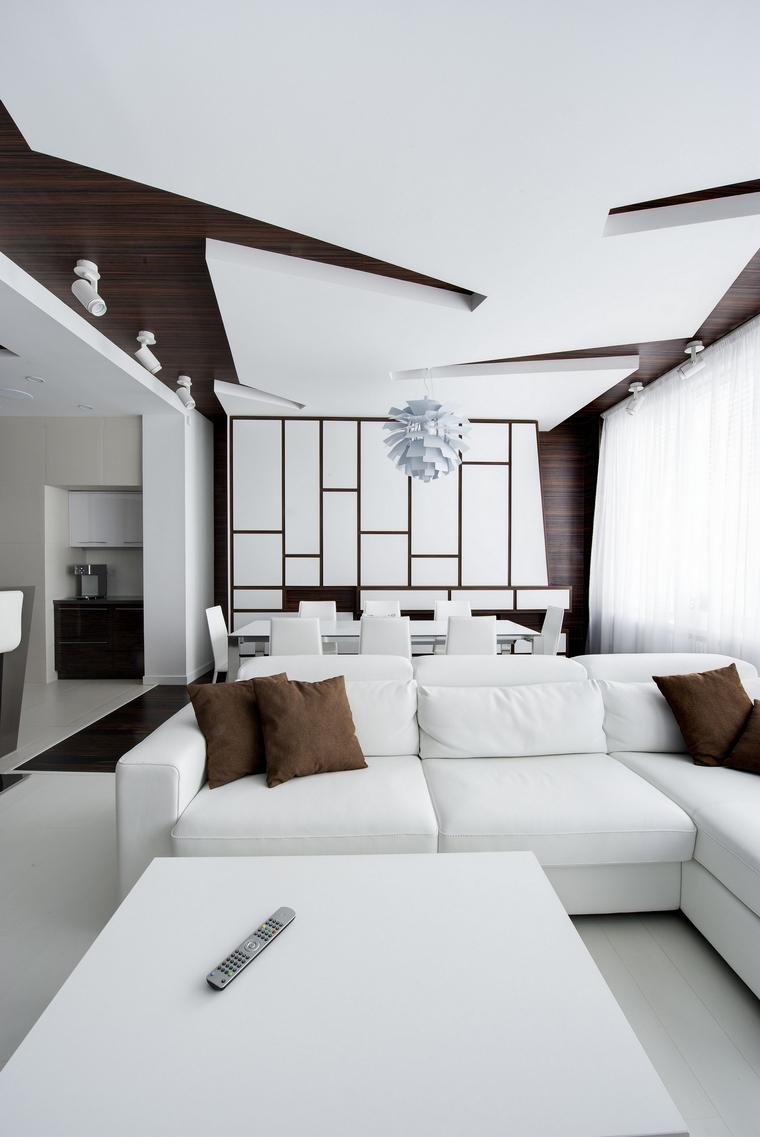 интерьер гостиной - фото № 48042
