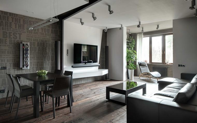 Фото № 48060 гостиная  Квартира