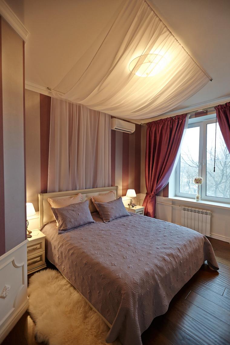 Квартира. спальня из проекта , фото №48133