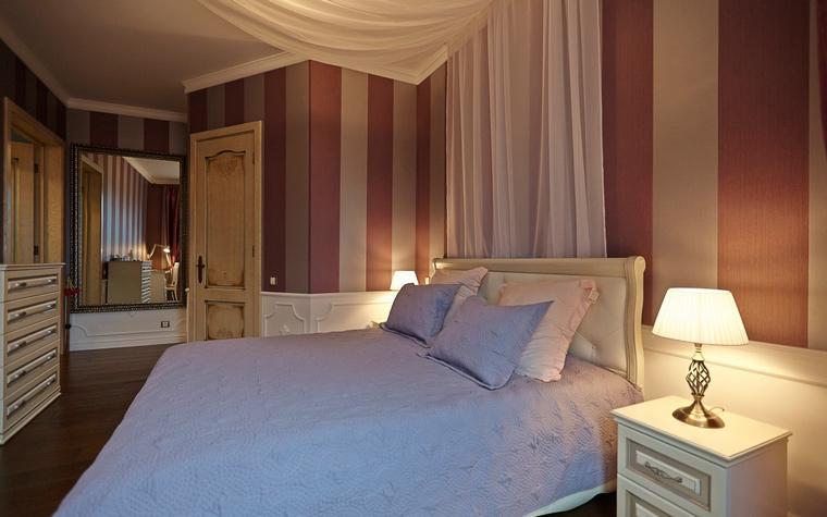 Квартира. спальня из проекта , фото №48136