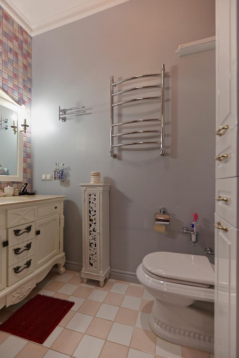 Квартира. ванная из проекта , фото №48140