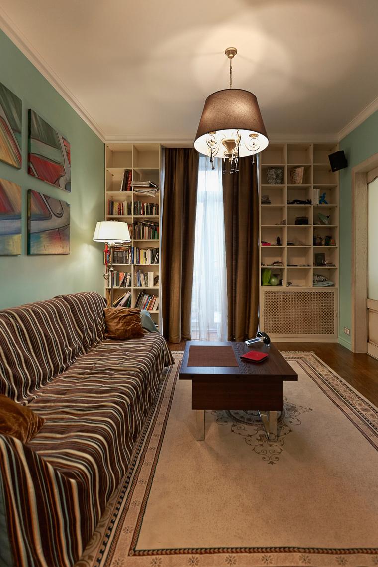 Квартира. гостиная из проекта , фото №48113