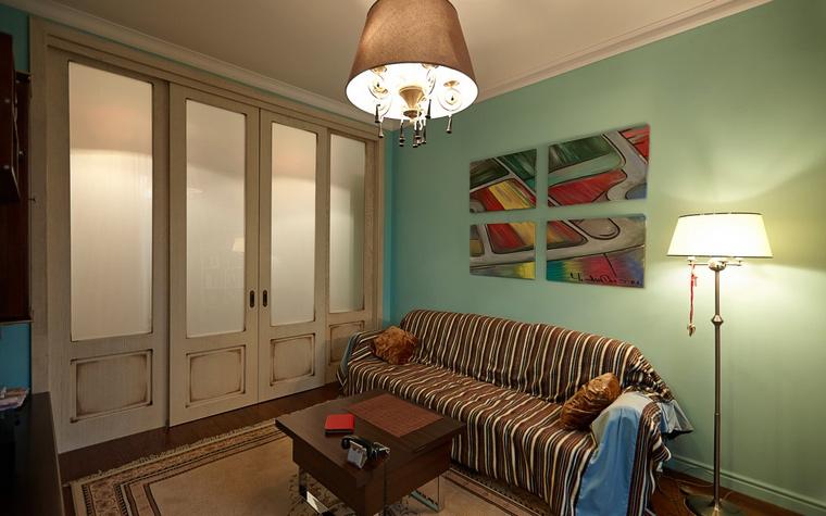 Квартира. гостиная из проекта , фото №48114