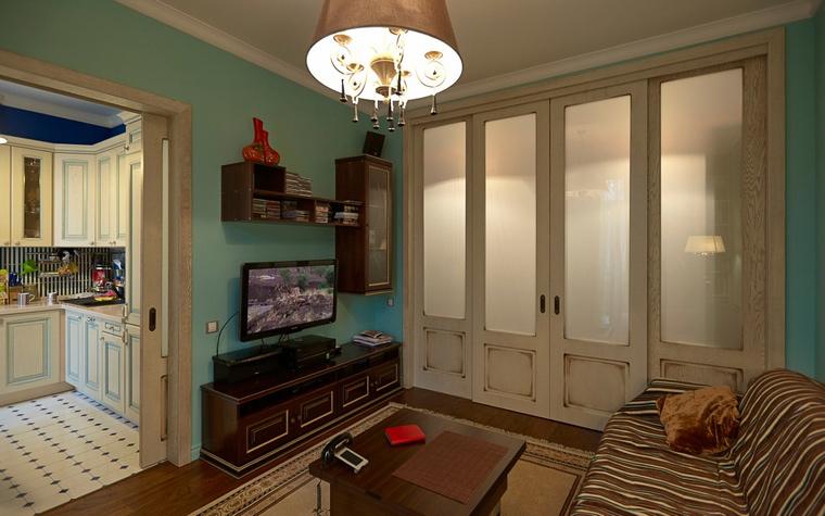 Квартира. гостиная из проекта , фото №48115