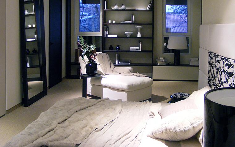 интерьер спальни - фото № 48123