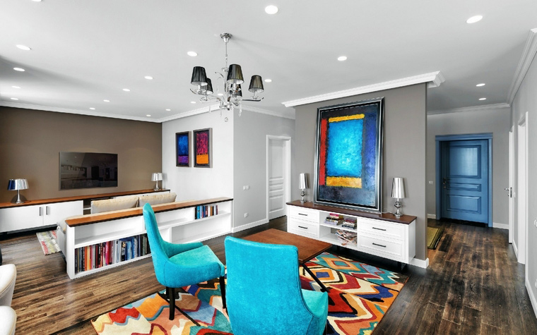 Квартира. гостиная из проекта , фото №48160