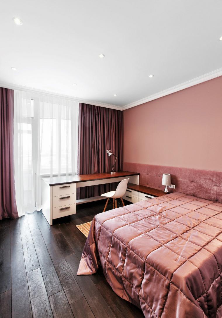 Квартира. спальня из проекта , фото №48164