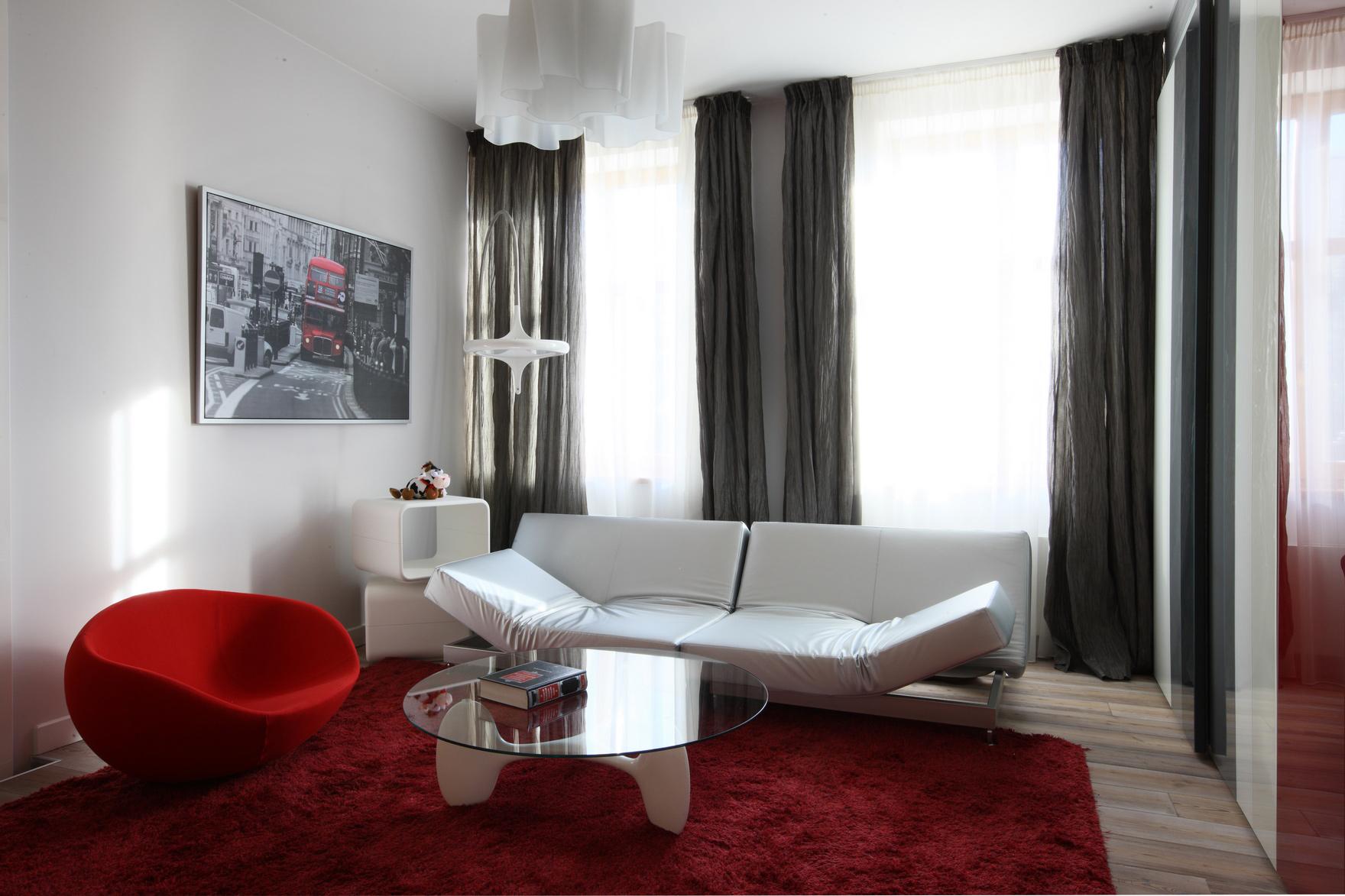 Фото № 48462 гостиная  Квартира