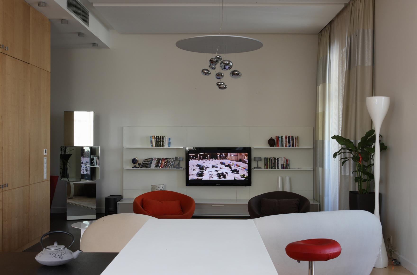 интерьер гостиной - фото № 48452