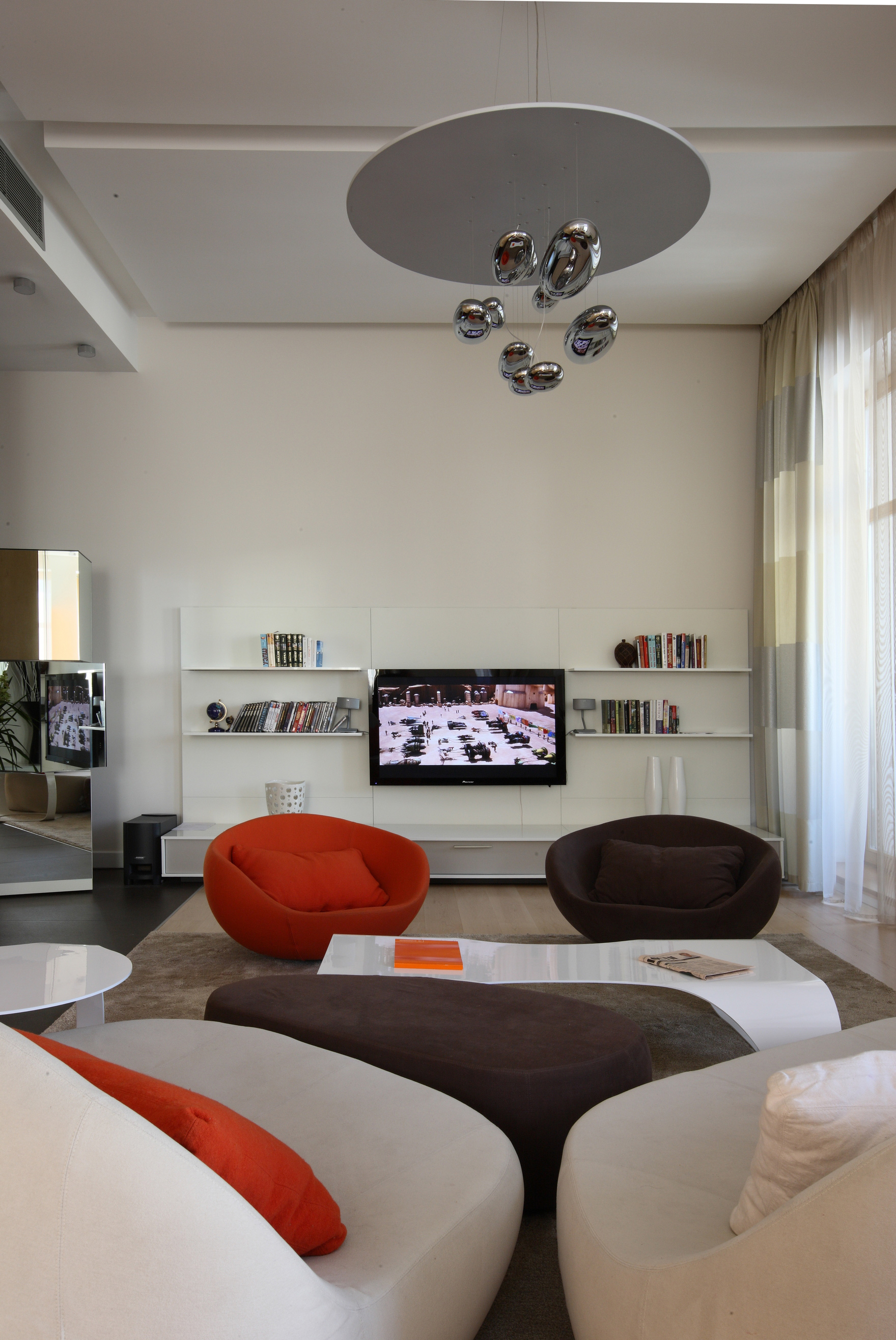 интерьер гостиной - фото № 48453