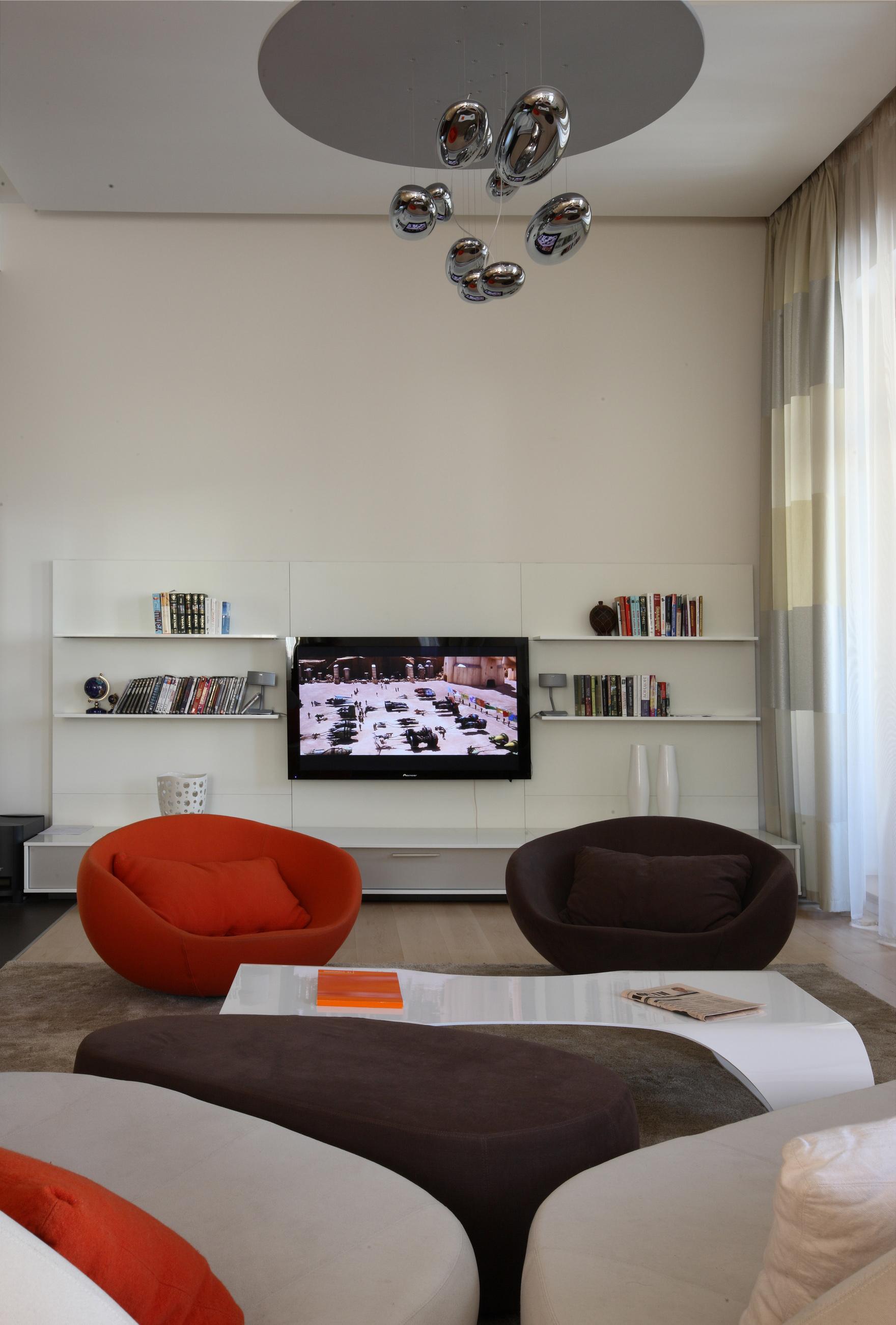 интерьер гостиной - фото № 48454