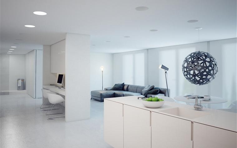 Фото № 48506 гостиная  Квартира