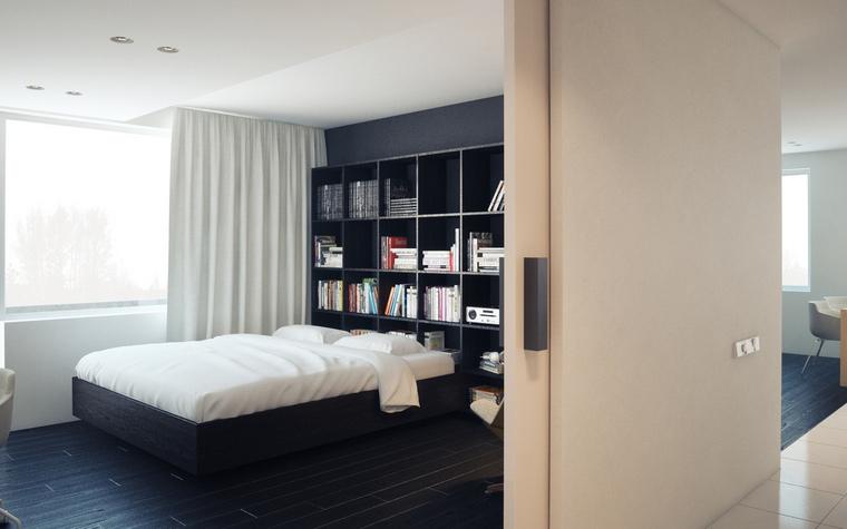 интерьер спальни - фото № 48521
