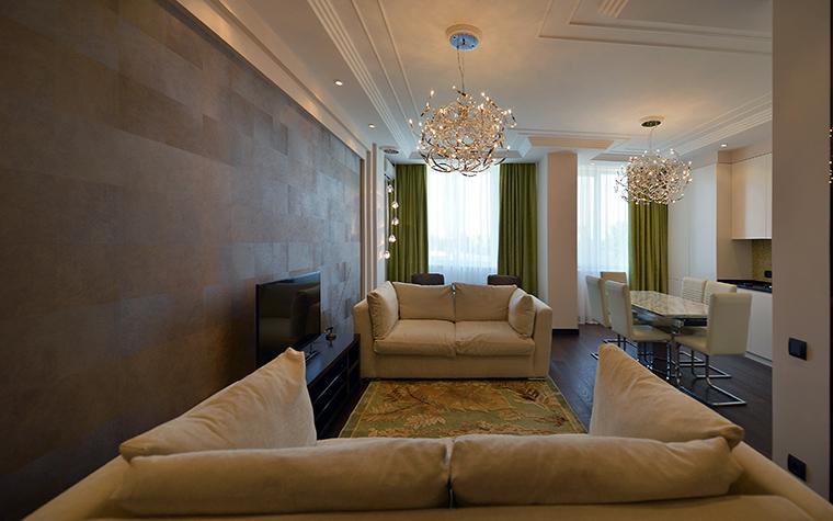 Фото № 48540 гостиная  Квартира