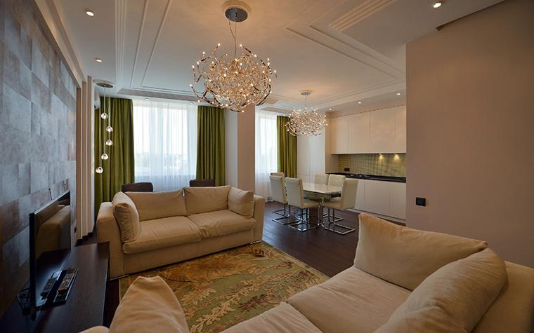 Фото № 48537 гостиная  Квартира