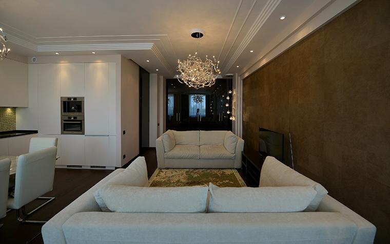 Фото № 48538 гостиная  Квартира