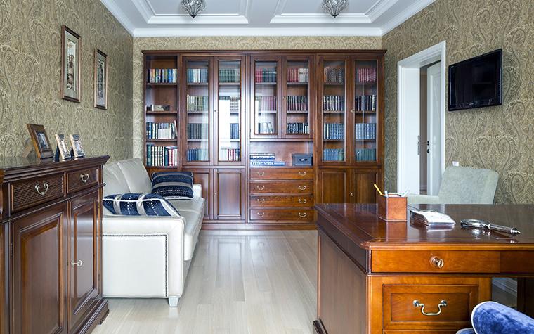 Фото № 48566 кабинет библиотека  Квартира