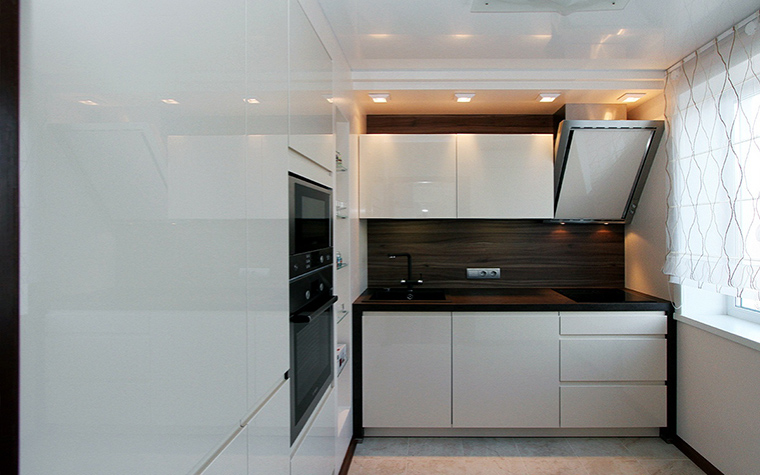 Квартира. кухня из проекта , фото №48590