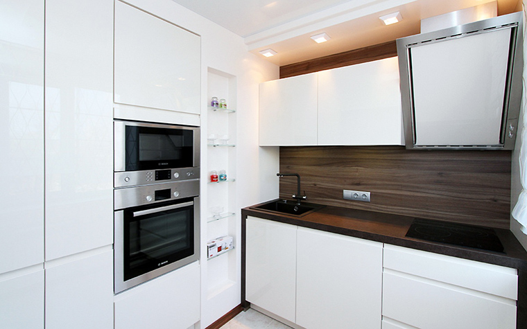 Квартира. кухня из проекта , фото №48591