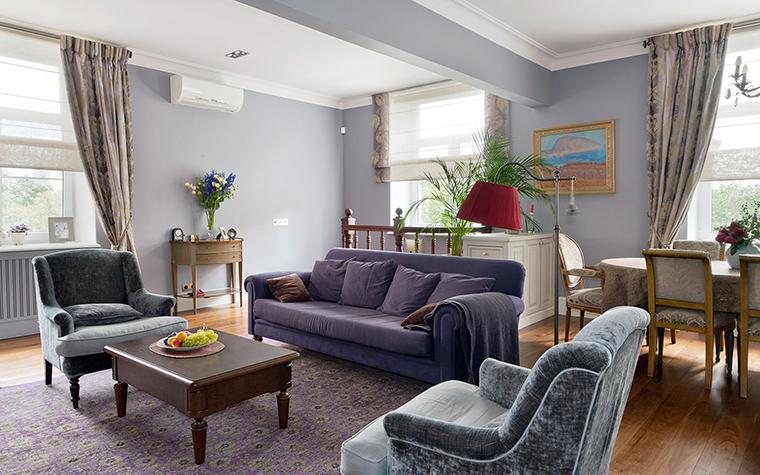 интерьер гостиной - фото № 48672