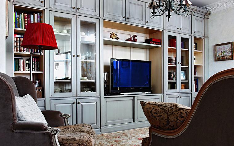 интерьер гостиной - фото № 48691