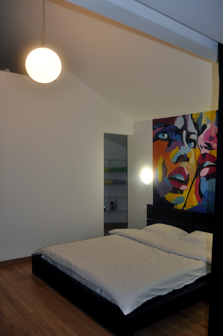 интерьер спальни - фото № 48876