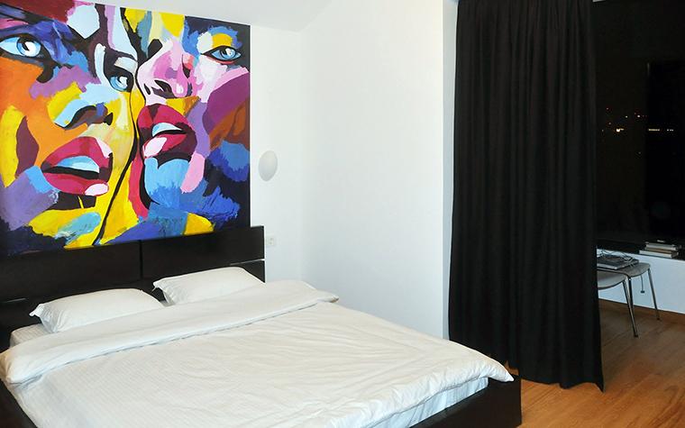интерьер спальни - фото № 48708