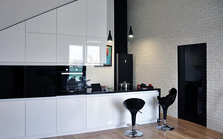 Квартира. кухня из проекта , фото №48710