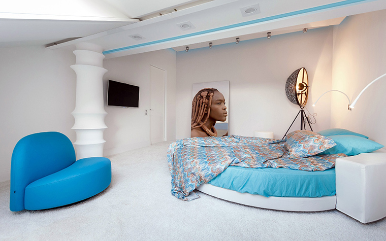 интерьер спальни - фото № 48827