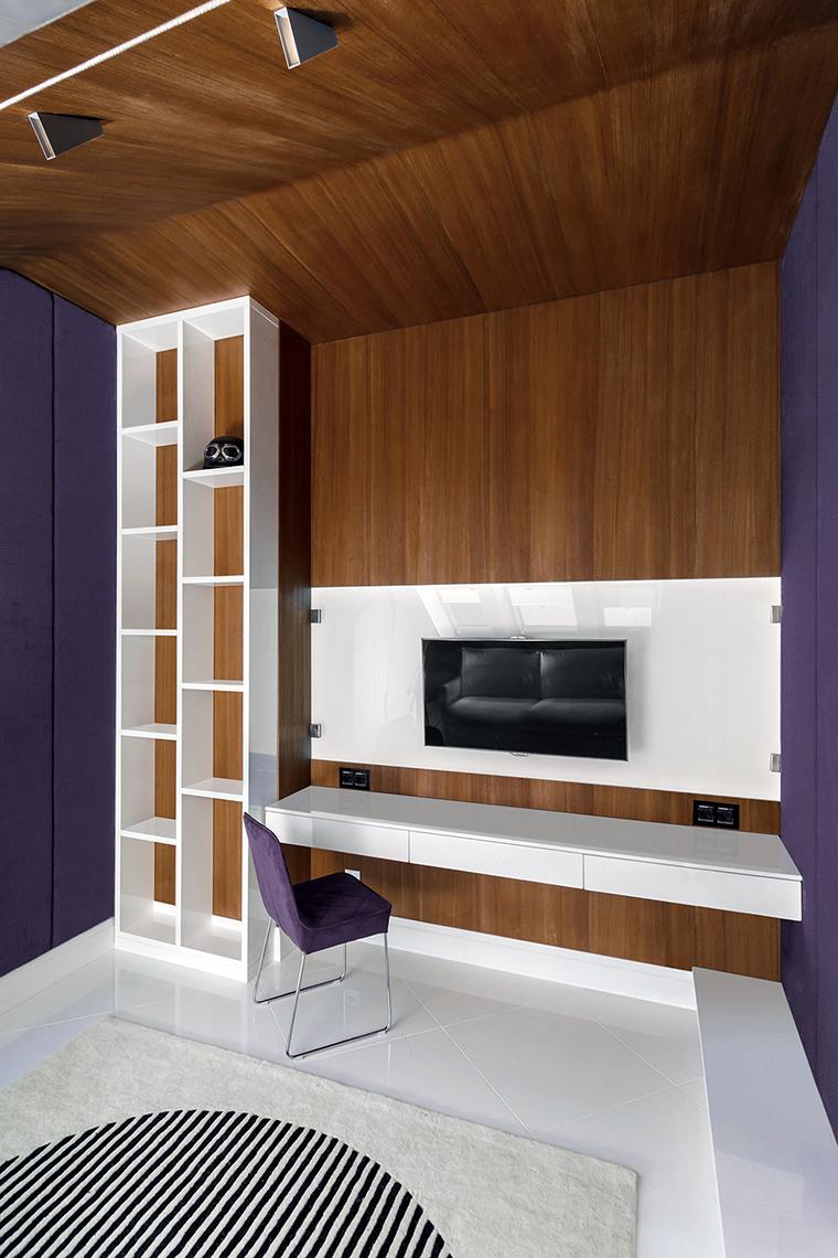 Квартира. кабинет из проекта , фото №48839