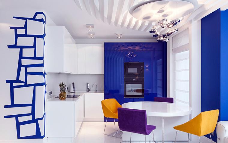 Квартира. кухня из проекта , фото №48835