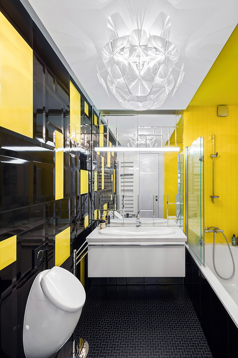 Квартира. ванная из проекта , фото №48837
