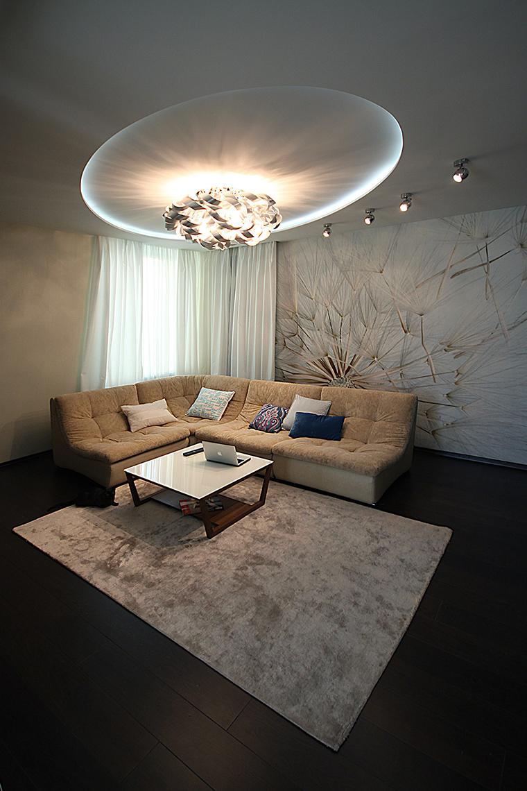 интерьер гостиной - фото № 48894