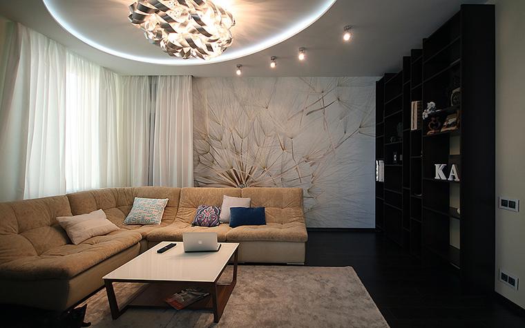 интерьер гостиной - фото № 48895