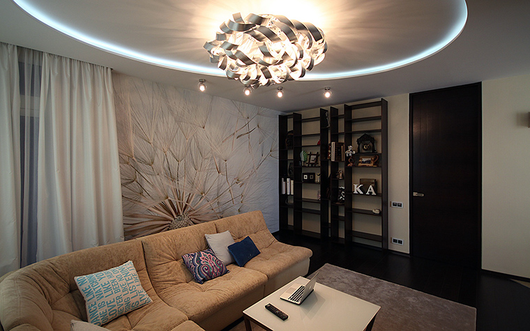 интерьер гостиной - фото № 48896