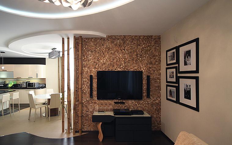 интерьер гостиной - фото № 48897