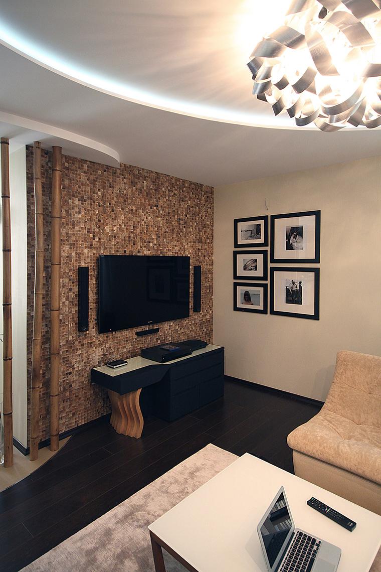 интерьер гостиной - фото № 48898