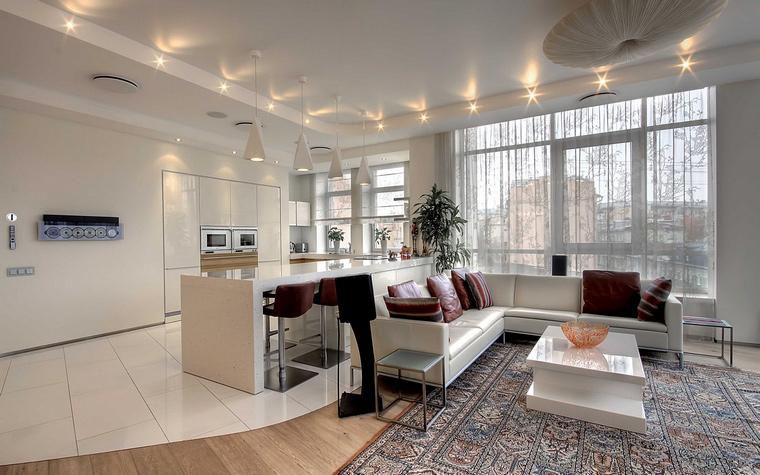 Фото № 49024 гостиная  Квартира