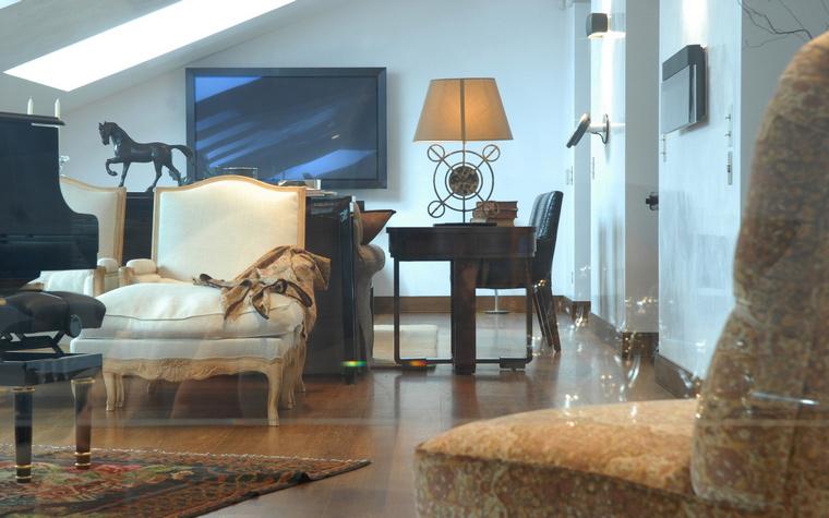 интерьер гостиной - фото № 49061