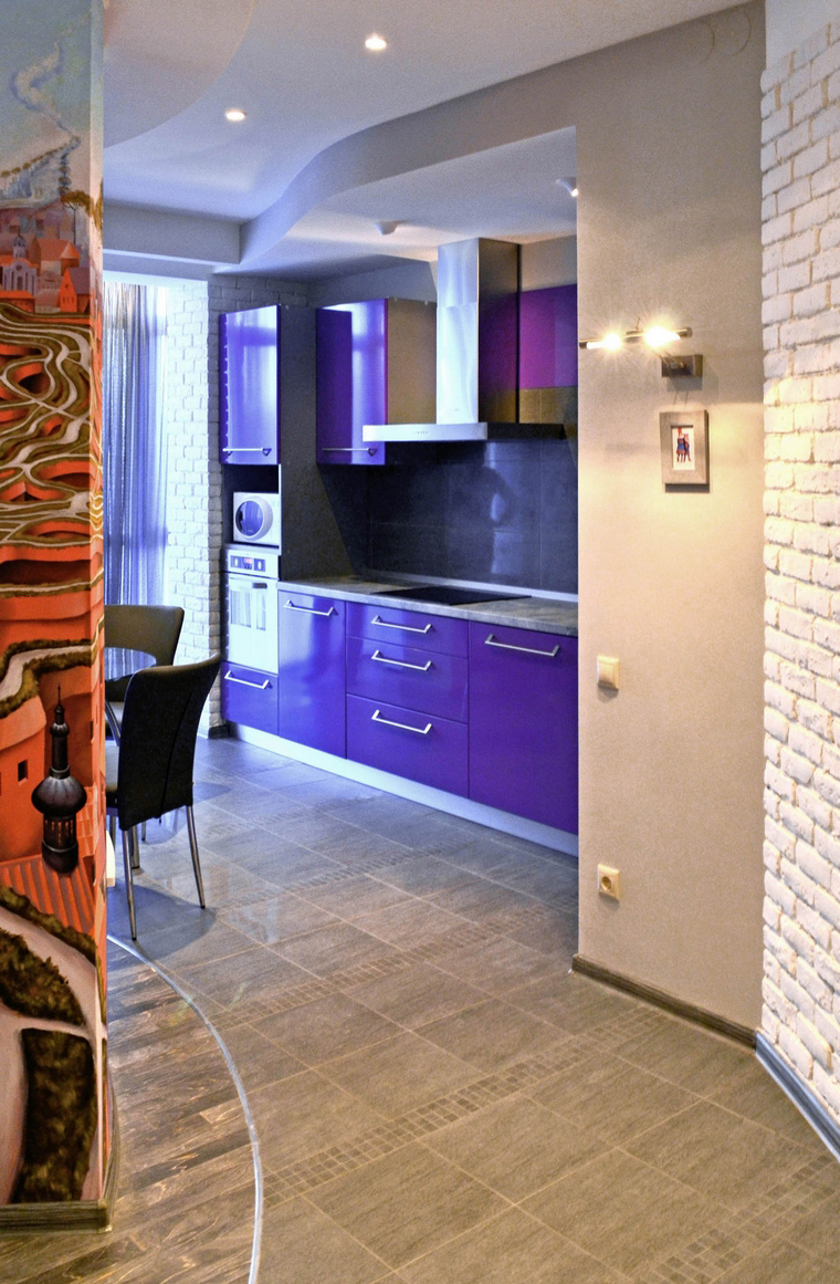 интерьер кухни - фото № 49090